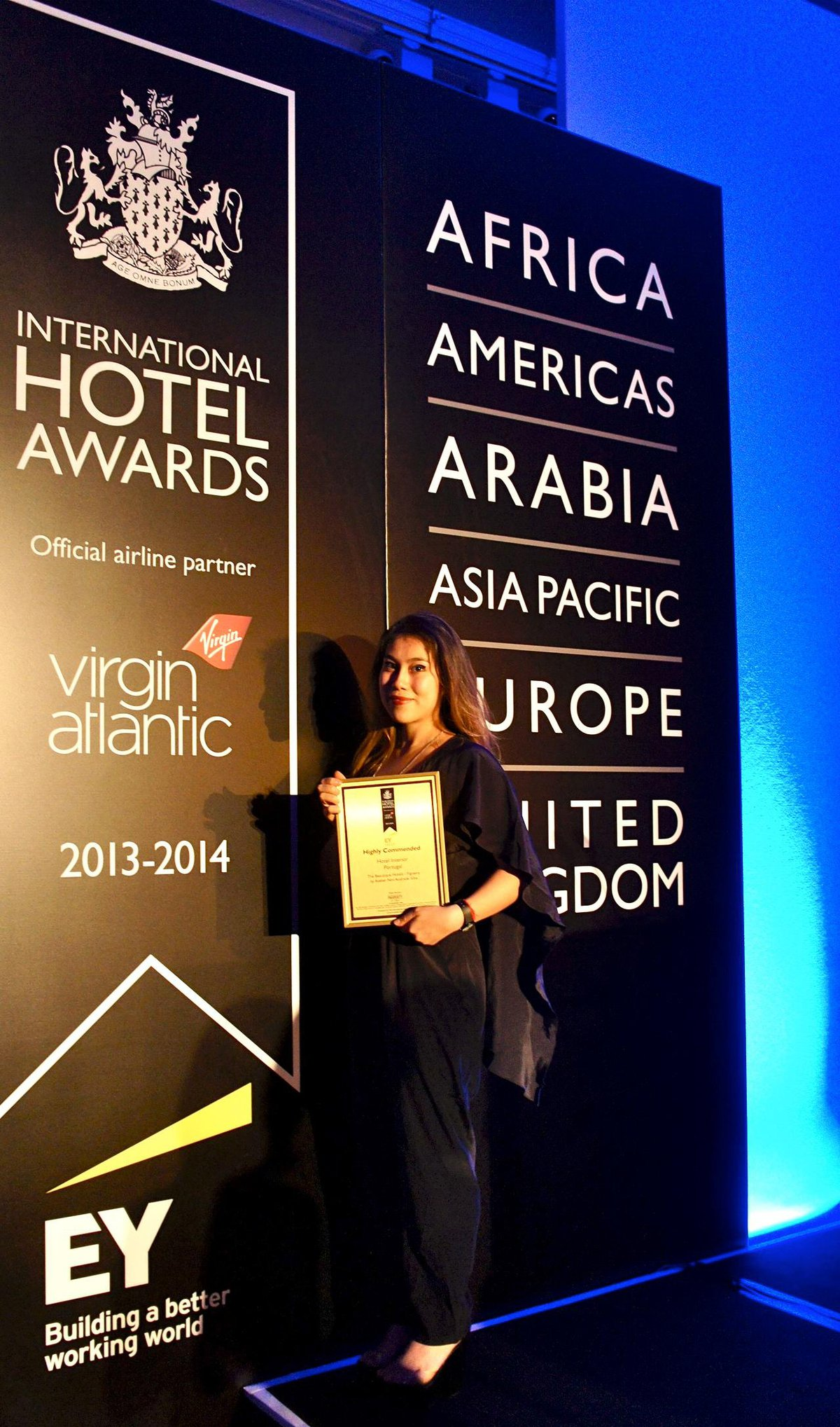 2013 Dália nos International Hotel Awards
